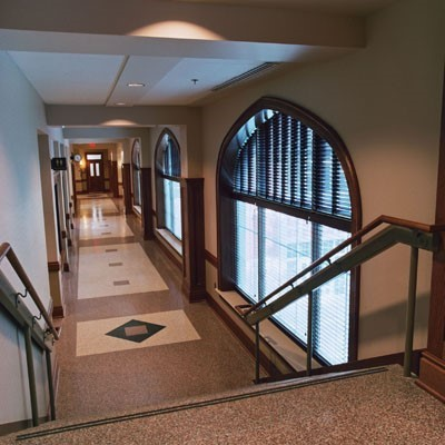 OKC-OU-Price-Biz-School-Interior-Hallway