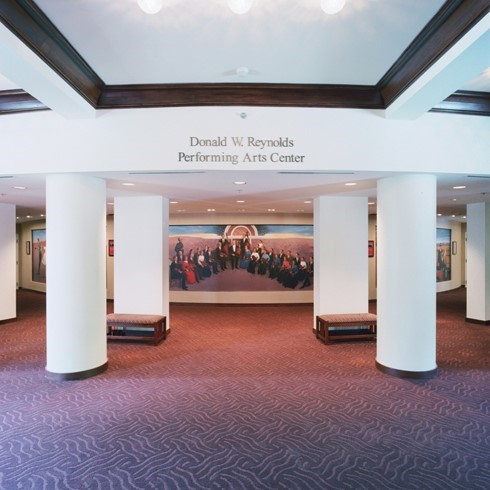 OKC-OU-Holmberg-Hall-Interior-PAC-Entrance